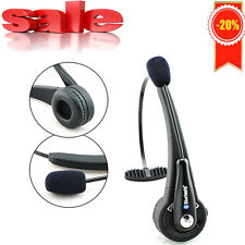 HOT Trucker over the Head Wireless Bluetooth boom Mic Headset for PS3 PC Phones