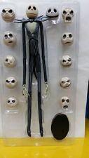 2017 The Nightmare Before Xmas Jack Skellington 15″ Figure 12 Skull Heads Toys