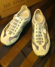 Skechers Sport Women's Pull-On No Tie Walking Shoes Sneakers Beige Olive sz 8.5