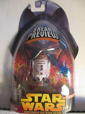 """2005 Star Wars Revenge of The Sith Sneak Preview MOC 3"""" R4-G9 Droid Figure"""