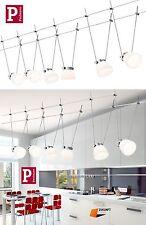 PAULMANN LED SEILSYSTEM ICELED II 6X4 WATT SATIN NEUSTE LED TECHNIK ART:94115