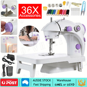 Electric Mini Multi Function Portable Hand Held Desktop Home Sewing Machine New