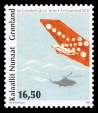 Greenland 2010 Aircraft, 50th Anniversary of Greenland Air, UNM / MNH