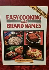 Easy Cooking with Brand Name: A Lorraine Greey Book