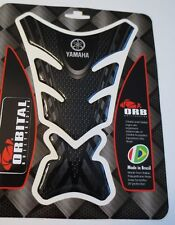 "ORBITAL TANK PROTECTOR GEL PAD - YAMAHA FORK - BLACK/BLACK - 5"" X 7.2"""
