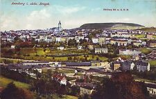 Germany AK Annaberg-Buchholz - Total View old unused postcard
