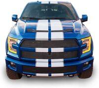 Graphics Decal for Ford F150 Full Stripes Kit Vinyl Design Front to Back bonnet