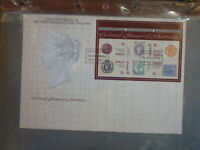 AUSTRALIA 1990 150th 1st POSTAGE STAMP 6 STAMP MINI SHEET FDC FIRST DAY COVER