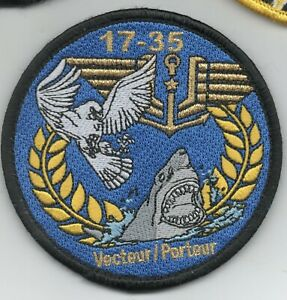 French Navy Aviation Course 17-35 patch, hook & loop