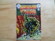 1974 DC SWAMP THING # 9 SIGNED BY CREATOR & ARTIST BERNI WRIGHTSON, WITH POA