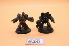 Warhammer 40k chaos space marines 2 chaos obliterators well painted 620