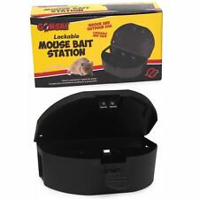 Mini Mouse Bait Lockable Station Pest Control Box Killer Rodent Trap Poison Mice
