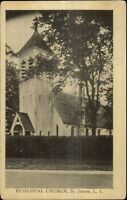 St. James Long Island NY Episcopal Church c1910 Postcard