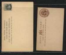 Cape of Good Hope  2  revalued  postal cards  unused    MS1129