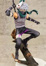 Naruto Shippuden Hatake Kakashi Anbu 22cm Figure 2 Faces Changeable Gift Toy NIB