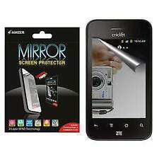 AMZER Anti Scratch Mirror Screen Protector w/ Cleaning Cloth For ZTE Score X500