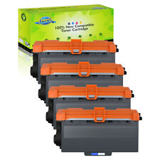 4PK TN750 Toner Cartridge For Brother TN-750 MFC-8510DN MFC-8710DW MFC-8910DW