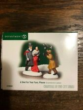 Dept 56 Christmas In The City Accessory A Shot For Your Fans, Please Nib