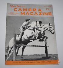 Revista de cámara moderna, septiembre de 1954-Cámara Kodak Estéreo