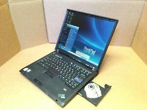 "Lenovo IBM ThinkPad T60 15""  1.83GHz 60GB HDD 2GB RAM Windows XP Pro ATI X300"