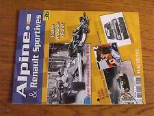 $$$ Fascicule Alpine & Renault sportives N°36 Alpine Formule 1 A 500 1976