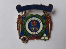DEREHAM DISTRICT CHARTERED 1978 VINTAGE  LIONS CLUB INTERNATIONAL PIN