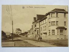 CPA CARTE POSTALE BELGIQUE - LA PANNE - BOULEVARD DE DUNKERQUE 1928 EN BON ETAT