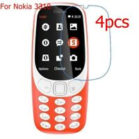 4x Ultra Clear LCD Screen Protector Film Guard Cover for Nokia 3310 Anti-Scratch