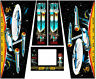Star Trek 25th DATA East Pinball Machine CABINET Decal Set