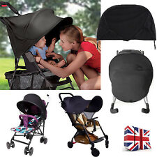 UV UPF50+ Sun Shade Canopy For Baby Buggy Stroller Pram Pushchair Car Seat UK