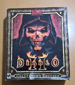 Blizzard North Diablo 2 Collector's Edition New & Sealed Number 03291 / 70000