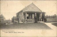 Groton CT Memorial Home c1910 Postcard
