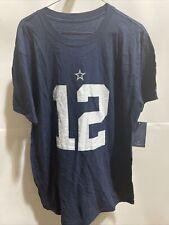 Dallas Cowboys Roger Staubach Shirt and Men's navy blue Fanatics