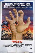PHASE IV  Movie One Sheet poster. Paramount, 1974