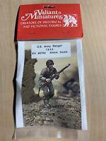 Valiant Miniatures 1943 WW2 US Army Ranger 54mm