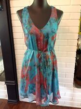 WOMENS Joshua Stunning O Ring Back Accent Summer Dress Size M