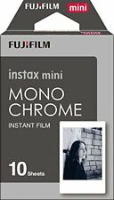 ❤ Pack Of 10 Instax Monochrome Mini Film Shots New UK SELLER