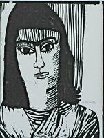 Gerhard MARCKS 1889 - 1981 - Frauenportrait