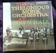 The Thelonious Monk Orchestra at Town Hall - Monk LP Riverside RLP 12-300 Mono