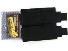 Voodoo Tactical Black Double Pistol MAG Magazine Pouch For 9Mm .40 .45 Cal