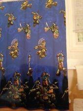 Teenage Mutant Ninja Turtles TMNT Children's Fabric Shower Curtain TV Movie