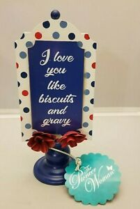 The Pioneer Woman Biscuits Gravy I Love You Like Table Metal Sign Read Descripti