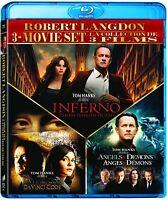 Inferno / Angels & Demons / Da Vinci Code, The - Set [Blu-ray]