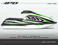 IPD Jet Ski Graphic Kit for Kawasaki 750 SX & SXI (HK Design)