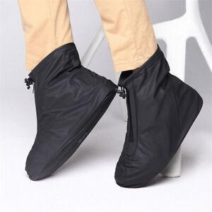 Men Women Shoes Covers for Rain Flats Ankle Boots Cover PVC Reusable Non-slip