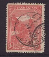 Tasmania GUILDFORD JUNCTION postmark on 1d pictorial rated S+ (6) by Hardinge