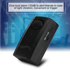 120DB IR Allarme Vibrazione Antifurto Sirena con Telecomando per Casa Sicurezza