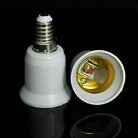 E14 to E27 Screw Socket Lamp Holder Extend Base LED Light Converter Adapter G2P8