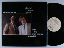 CHARLIE ROUSE Playin' In The Yard STEAM LP VG+ uk ~