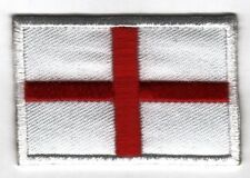 Iron On/ Sew On Embroidered Patch Badge Flag England St Georges Cross National